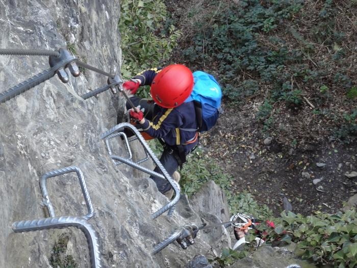 Klettersteig Huterlaner : Klettersteige mit kindern in bayern und Österreich huterlaner