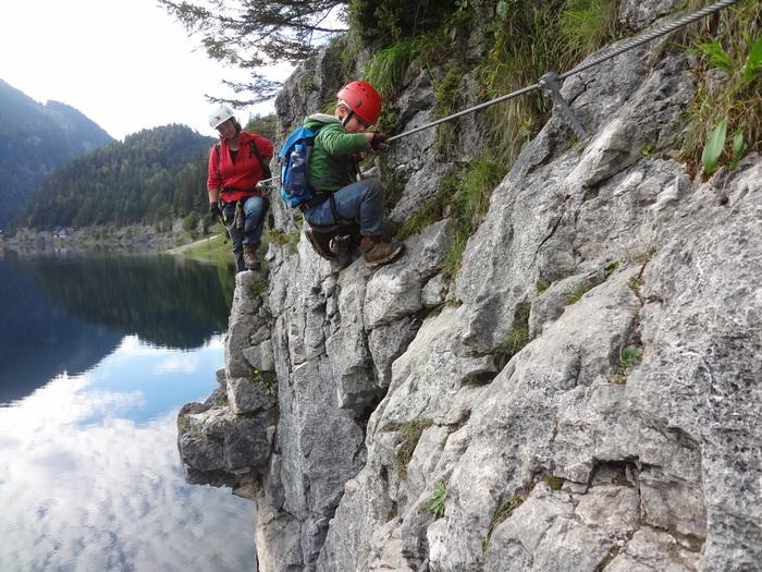Laserer Alpin Klettersteig : Klettersteige mit kindern in bayern und Österreich laserer alpin