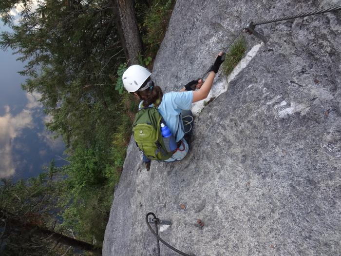 Laserer Alpin Klettersteig : Klettersteige mit kindern in bayern und Österreich: laserer alpin