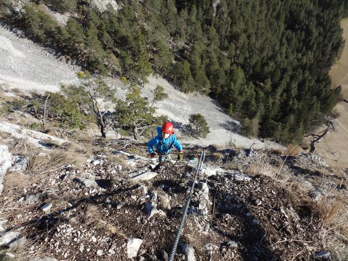 Klettersteig Nassereith : Klettersteige mit kindern in bayern und Österreich: leite