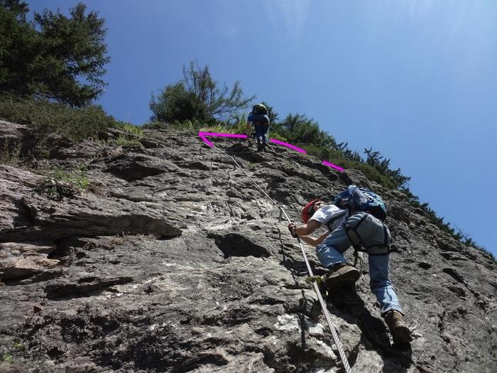 St Jodok Klettersteig : Klettersteige mit kindern in bayern und Österreich: peter kofler