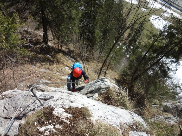 Klettersteig Zahme Gams : Zahme gams klettersteig bergsteigen